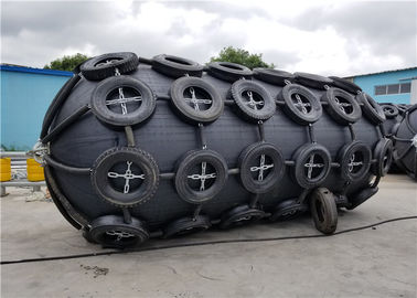 Galvanized Chain / Tyre Marine Rubber Fender High Energy Absorption CCS